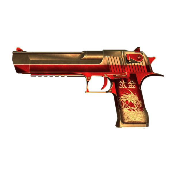 Desert Eagle - Golden Dragon