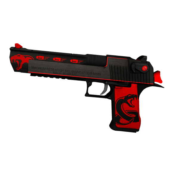 Desert Eagle - Red Viper