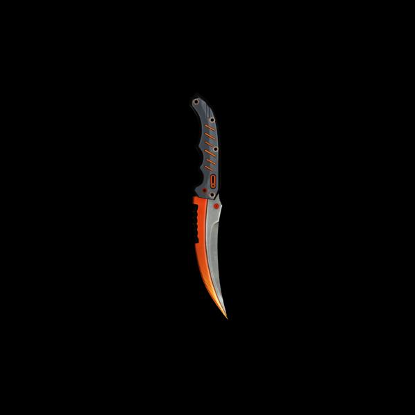 Flip Knife - Sun Burst II