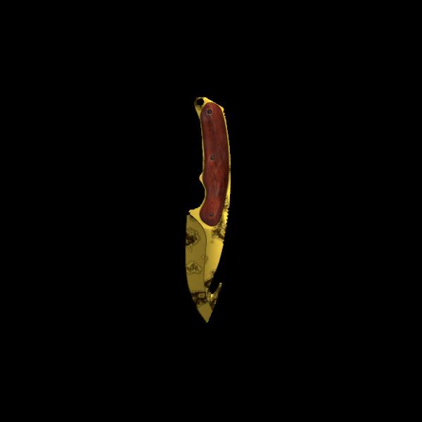Gut Knife - Gold Corrosion II