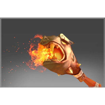 Genuine Flaming Scepter of Ancestral Luck