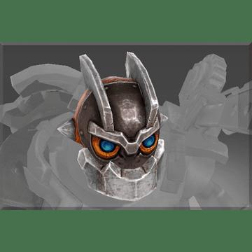 Head of the Iron Clock Knight