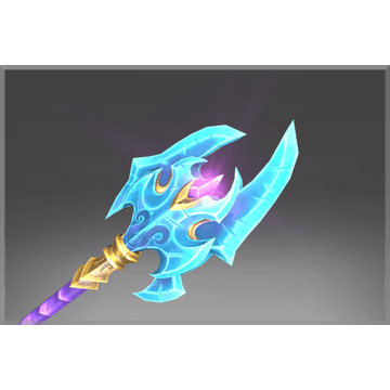 Genuine Deep Crystal Halberd