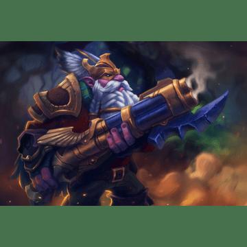 Longbeard Dwarf Engineer