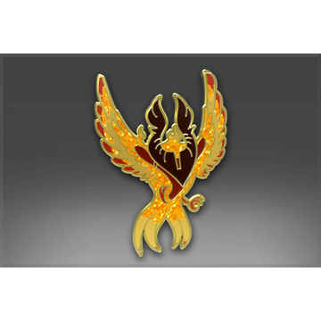 Genuine Pin: Phoenix