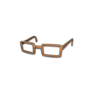 Horn-rimmed Glasses (Brown)