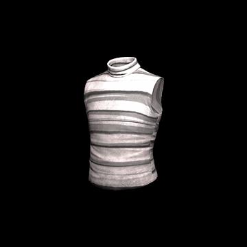 Sleeveless Turtleneck (Gray)