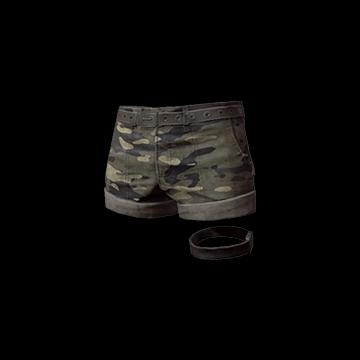 Camo Hotpants