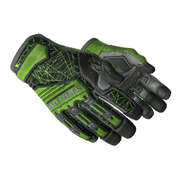 ★ Specialist Gloves | Emerald Web