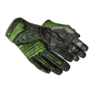 ★ Specialist Gloves Emerald Web