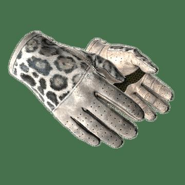 ★ Driver Gloves | Snow Leopard