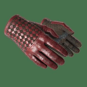 ★ Driver Gloves - Crimson Weave