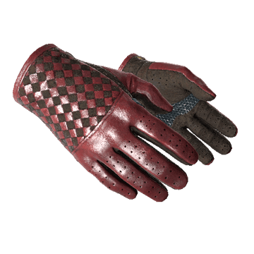★ Driver Gloves - Crimson Weave