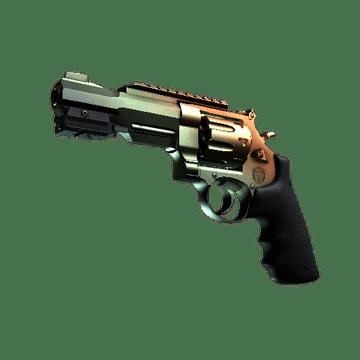 R8 Revolver Amber Fade