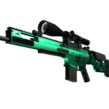 SCAR-20 - Emerald