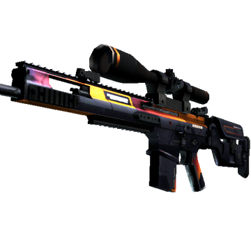 StatTrak™ SCAR-20 | Enforcer (Well-Worn)