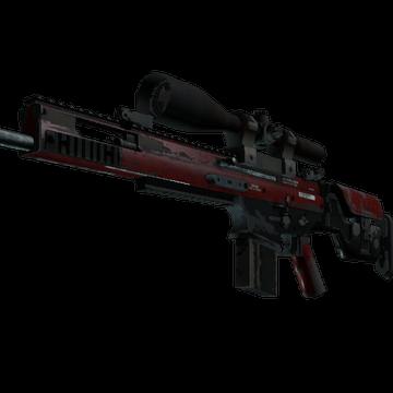 SCAR-20 Crimson Web