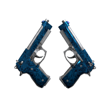 Dual Berettas Cobalt Quartz