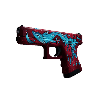 Glock-18 Water Elemental