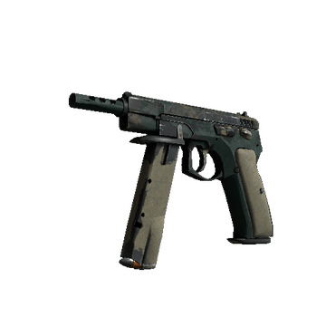 CZ75-Auto | Green Plaid
