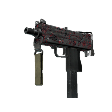 MAC-10 | Red Filigree