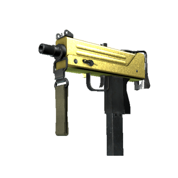 MAC-10 | Gold Brick