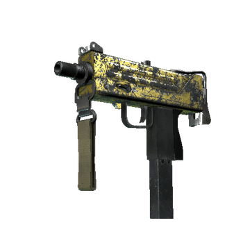 MAC-10   Gold Brick