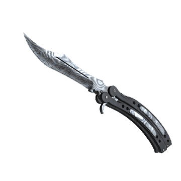 ★ Butterfly Knife - Damascus Steel