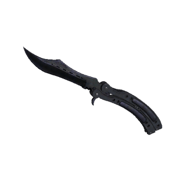 ★ Butterfly Knife Blue Steel