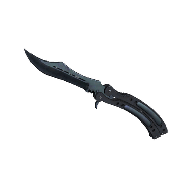 ★ Butterfly Knife | Blue Steel