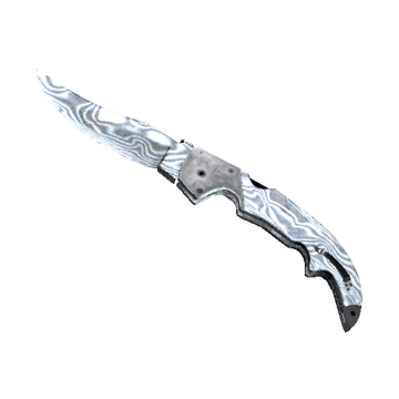 ★ Falchion Knife - Damascus Steel
