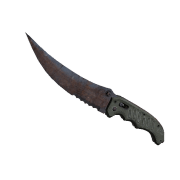★ Flip Knife Rust Coat