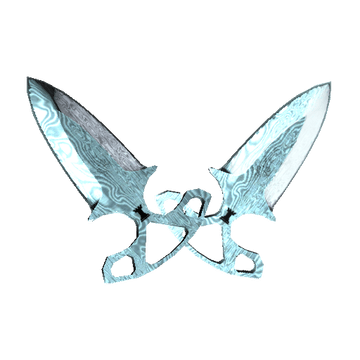 ★ Shadow Daggers - Damascus Steel
