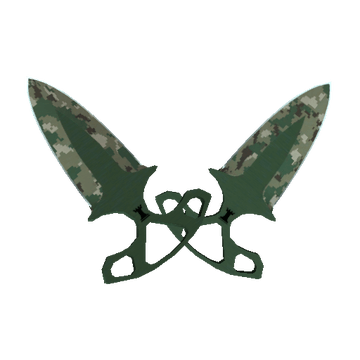 ★  Shadow Daggers Forest DDPAT