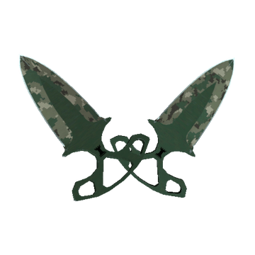 ★ Shadow Daggers - Forest DDPAT