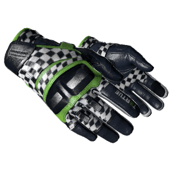 ★ Moto Gloves | Finish Line