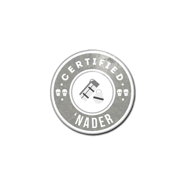 Sticker The 'Nader