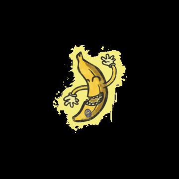 Sealed Graffiti | Banana