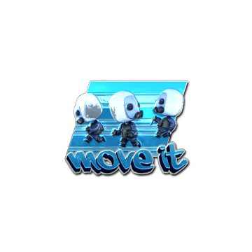 Sticker Move It(Foil)