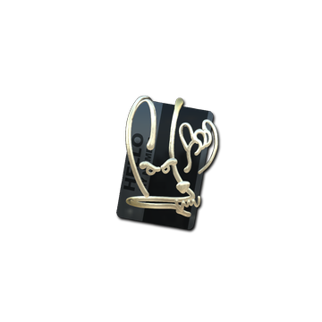 Sticker   Hello M4A4 (Gold)
