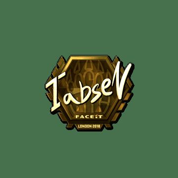 Sticker | tabseN (Gold) | London 2018