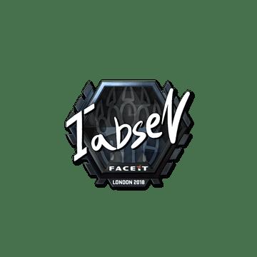 Sticker | tabseN (Foil) | London 2018