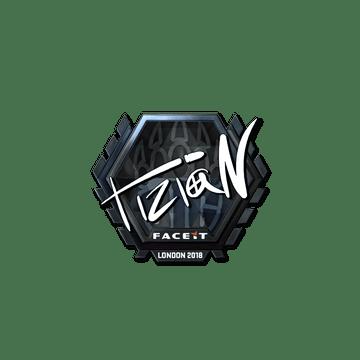 Sticker | tiziaN (Foil) | London 2018