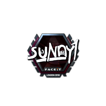 Sticker | suNny (Foil) | London 2018