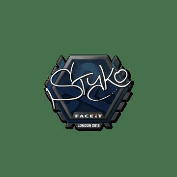 Sticker   STYKO   London 2018