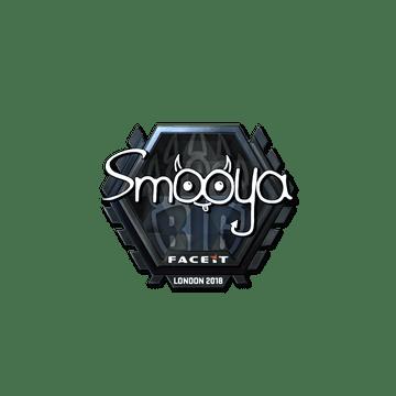 Sticker | smooya (Foil) | London 2018