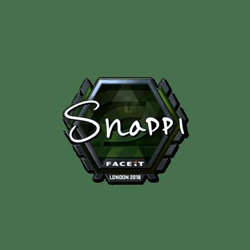 Sticker | Snappi (Foil) | London 2018