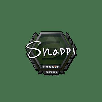 Sticker | Snappi | London 2018