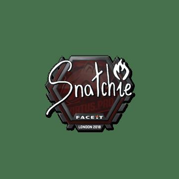 Sticker   snatchie   London 2018