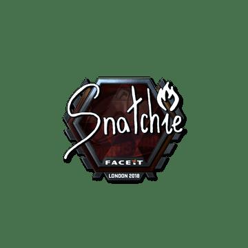 Sticker | snatchie (Foil) | London 2018
